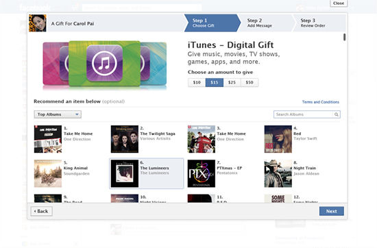 Facebook-Gifts-iTunes