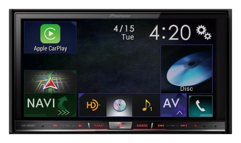 Pioneer_AVIC-8000NEX_Main_CarPlay_300dpi_5in_webready