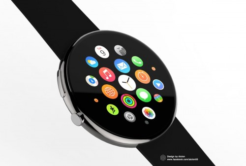 もし、「Apple Watch」が丸型フェイスを採用していたら…