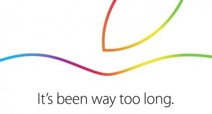 Apple、現地時間の10月16日にスペシャルイベントを開催する事を発表 ー 新型iPadなどを発表か