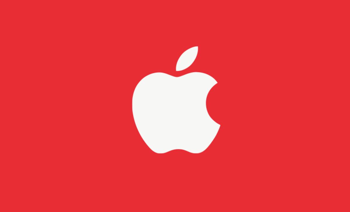 applelogored
