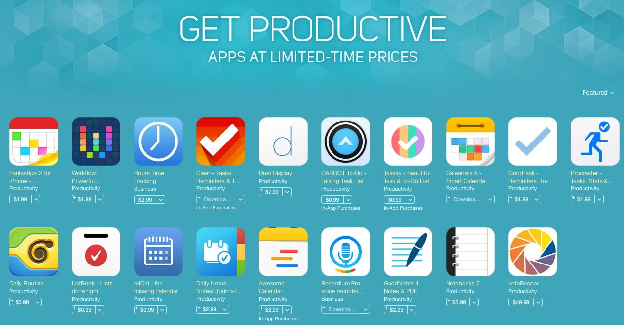 apple-get-productive-app-deals