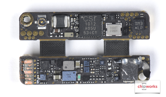 02 Chipworks Apple Pencil Teardown semiconductor board shot
