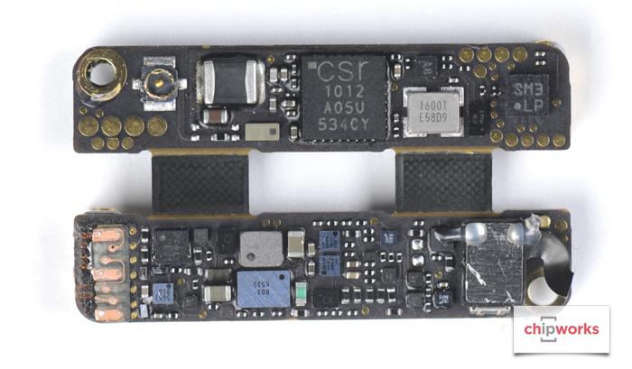 02 Chipworks Apple Pencil Teardown semiconductor board shot