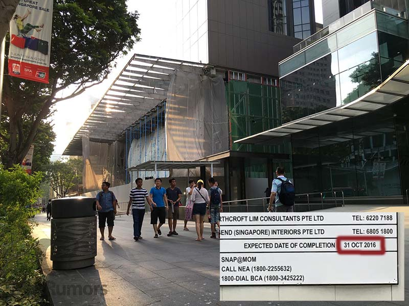 Singapore-Apple-Store-construction-July-2016