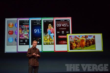 Apple、新しいiPod nanoを発表