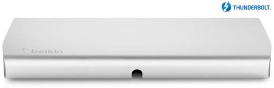 ベルキン、Thunderboltポートに接続可能な拡張ドック「Thunderbolt Express Dock」を国内でも6月1日より発売へ