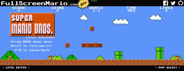 Full-Screen-Mario