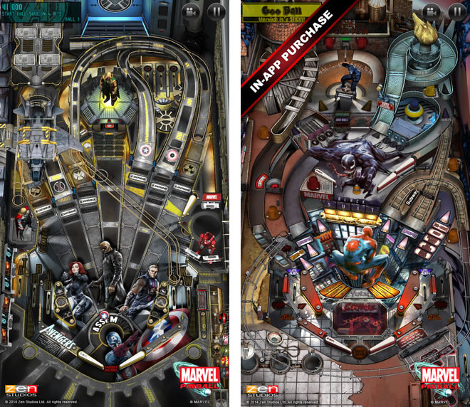 marvelpinball