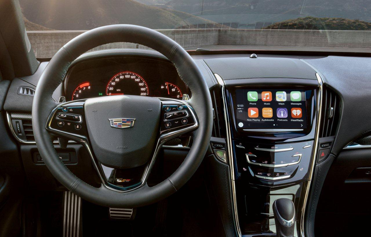 This summer Cadillac will begin deploying Apple CarPlay on the m