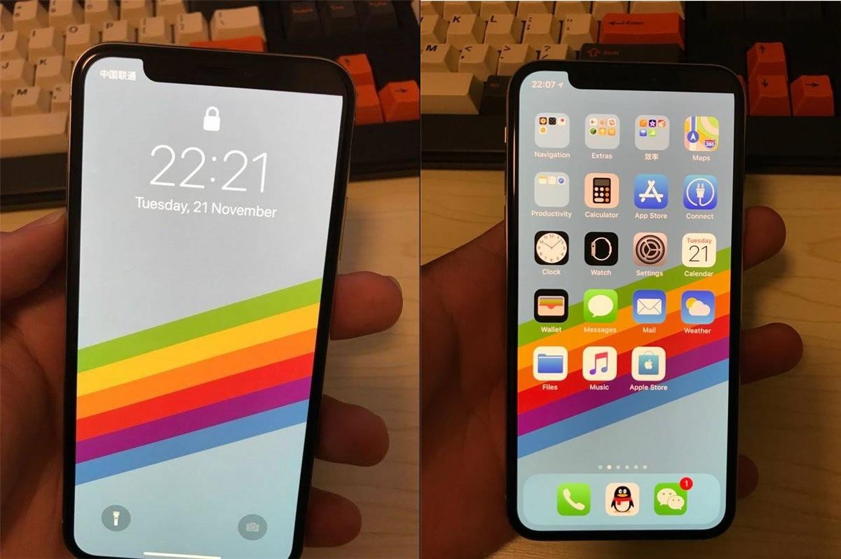 「iPhone X」でノッチ横のディスプレイの片方だけが真っ黒になる事例が報告される