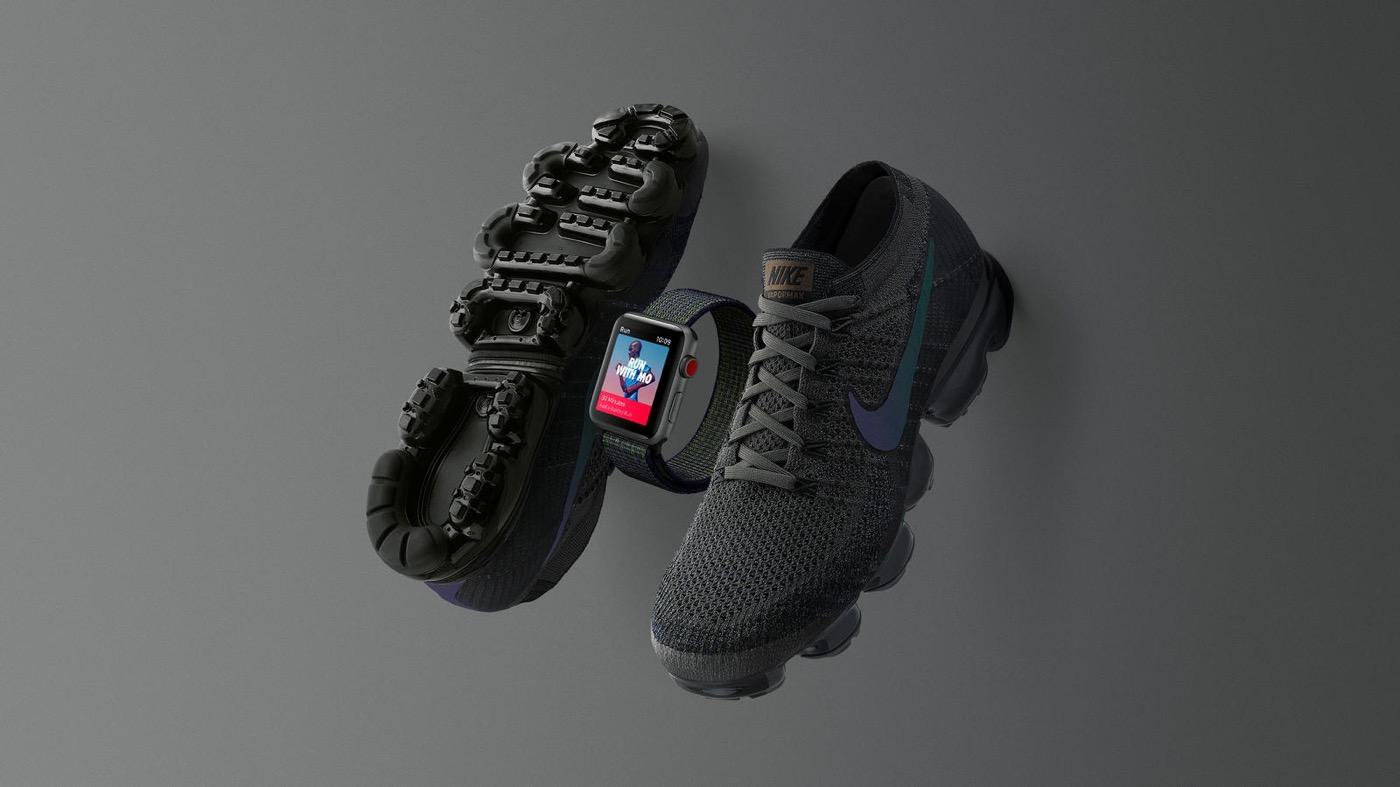 Nike、「Apple Watch Nike+ Series 3」の「ミッドナイトフォグ」カラーのモデルを発売へ