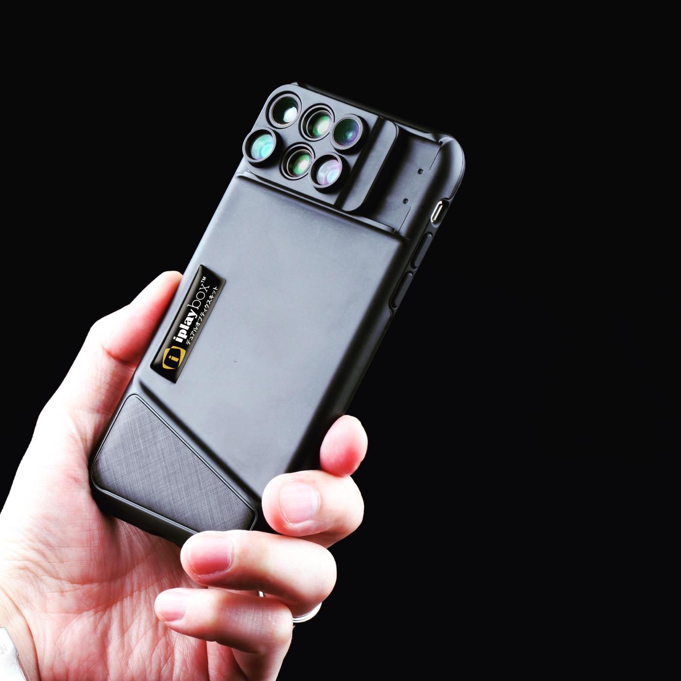 6つのレンズが搭載されたレンズ一体型ケース「DUAL OPTICS」の「iPhone X」対応モデルが登場