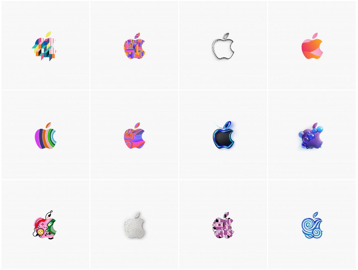 10月30日の発表イベントのappleロゴ画像 全371種類 が壁紙に