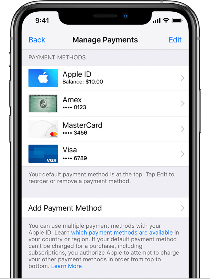 Itunes Zahlungsmethode Paypal