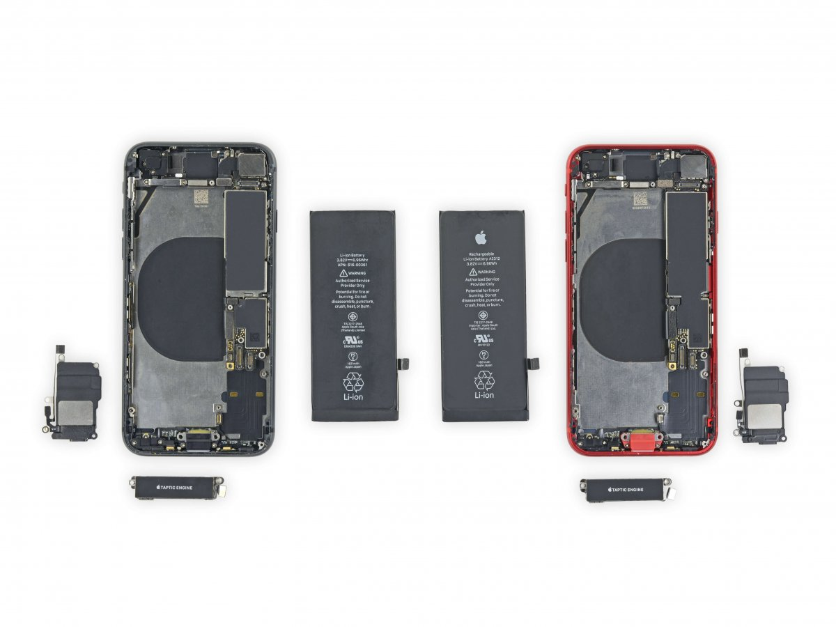 iFixit、「iPhone SE (第2世代)」の分解を開始