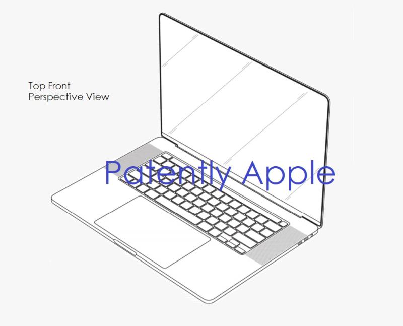 超薄型ベゼル採用の「MacBook Pro」はこんな感じに?? − Appleの意匠登録から明らかに