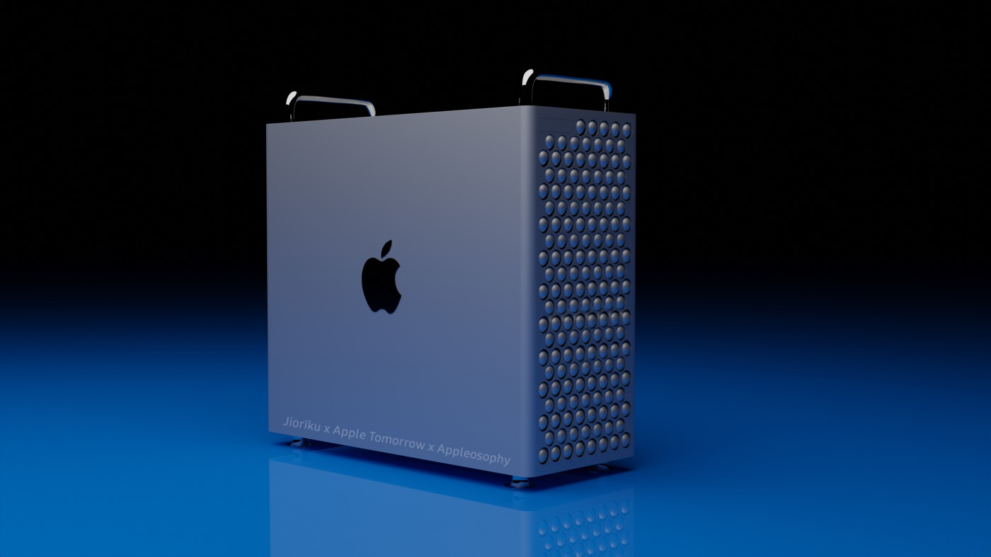 半分サイズになると噂の新型「Mac Pro」はこんな感じに?? − 試作機のレンダリング画像が登場