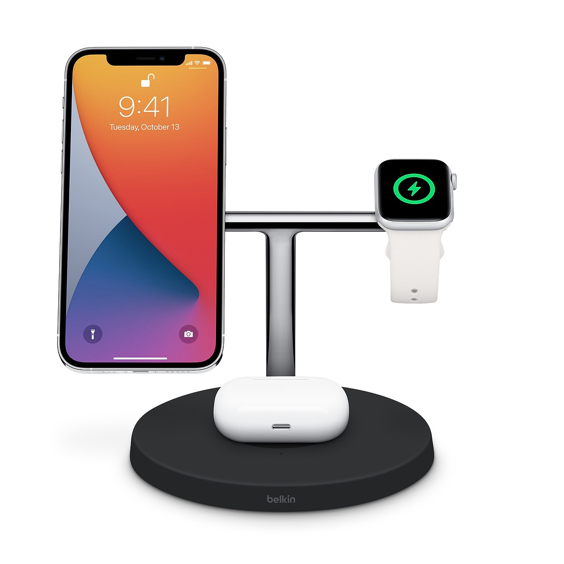 Apple、「Belkin BOOST↑CHARGE PRO 3-in-1 Wireless Charger with MagSafe」を販売開始