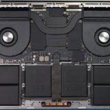 新型「MacBook Pro 16インチ」の内部構造が分かる分解写真